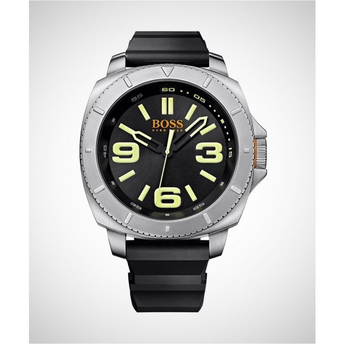 Image for Sao Paulo silver-tone steel watch