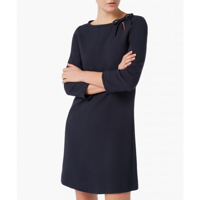Image for Honey indigo pure wool tunic dress