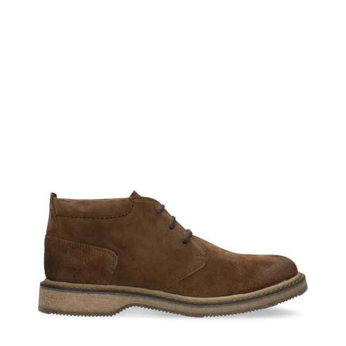 Image for Brown suede lace-up boots