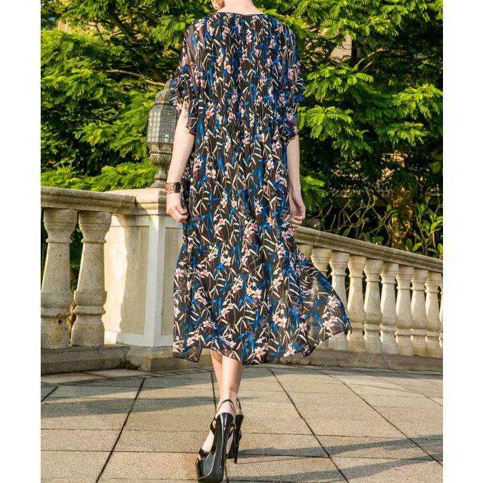 Image for Multi-colour midi dress