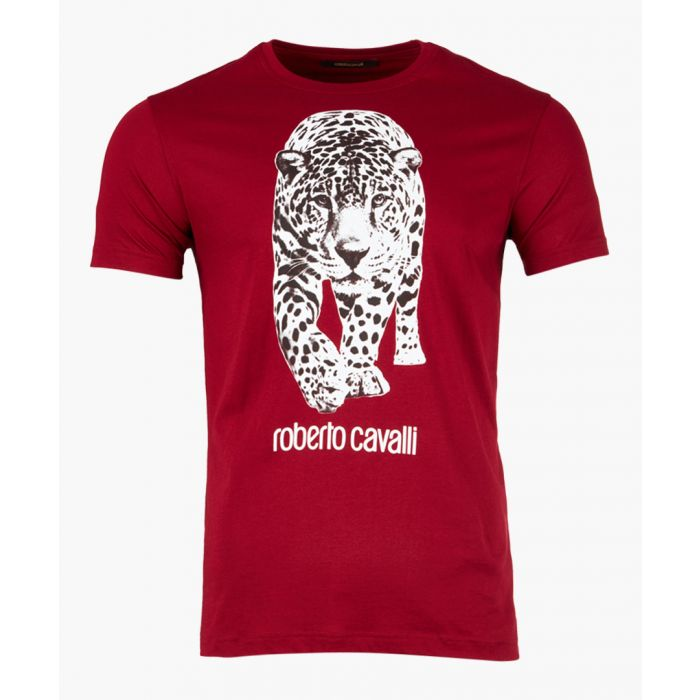 Image for Red printed logo T-shirt