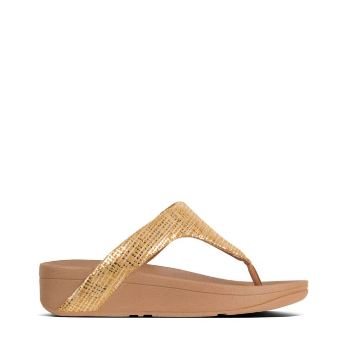 Image for Lottie baked yellow textured sandals