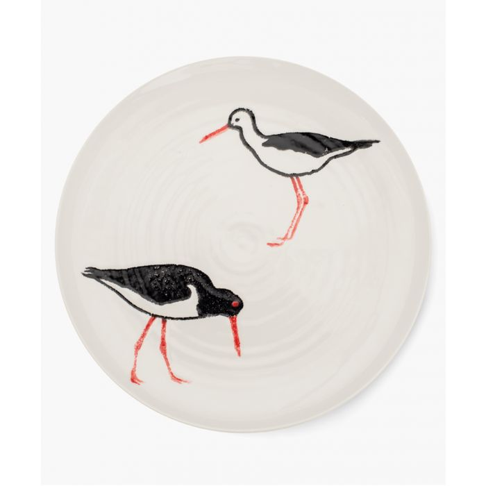 Image for Oyster Catcher printed dinner plate