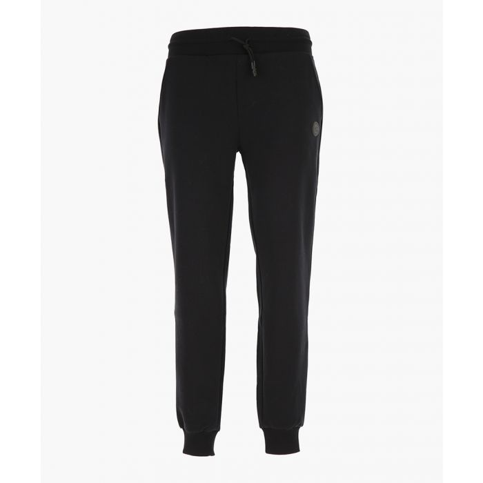 Image for Black pure cotton trousers