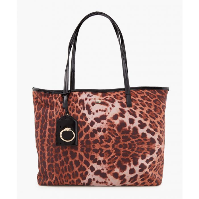 Image for Lorraine leopard print shopper