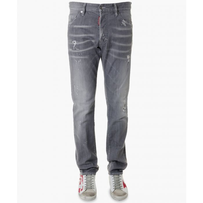 Image for Cool guy grey wash cotton jeans