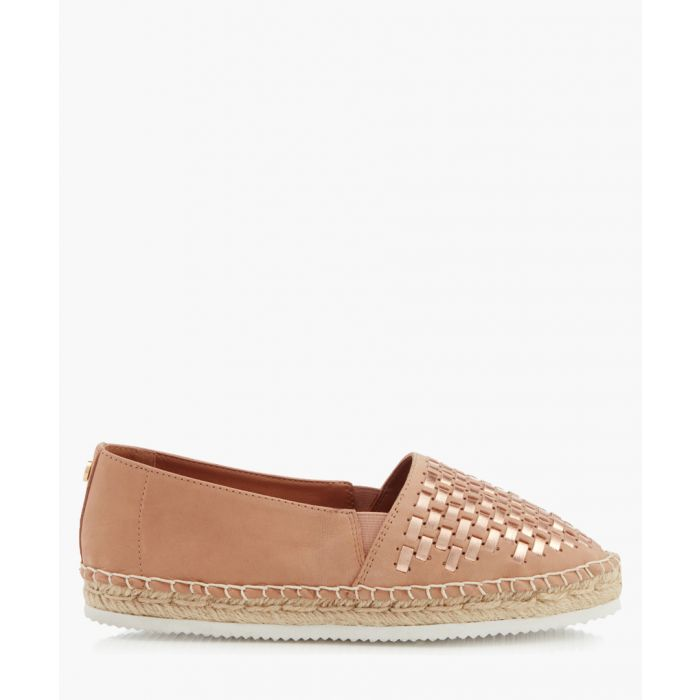 Image for Mast nude woven detail espadrilles