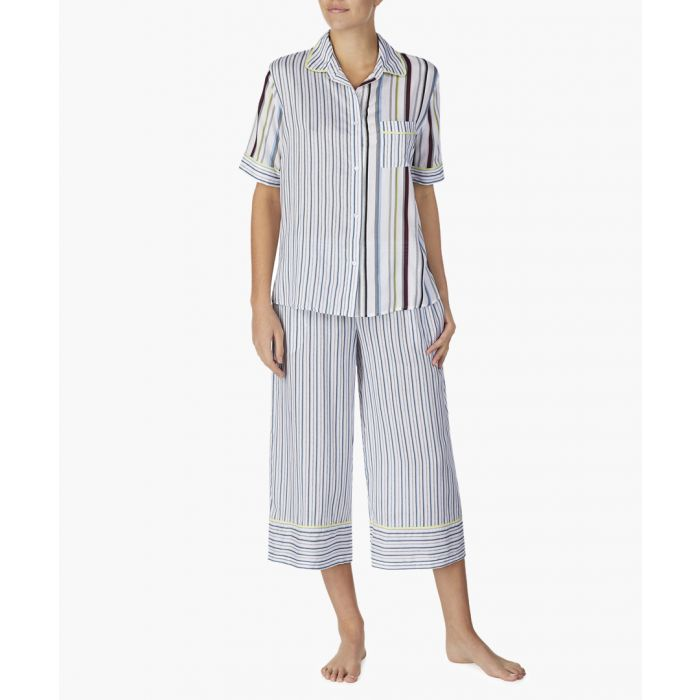 Image for Multicoloured capri pyjama set