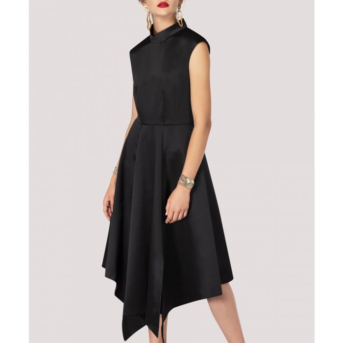 Image for Black asymmetric dress