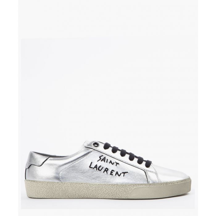 Image for Court Classic SL/06 metallic leather trainers