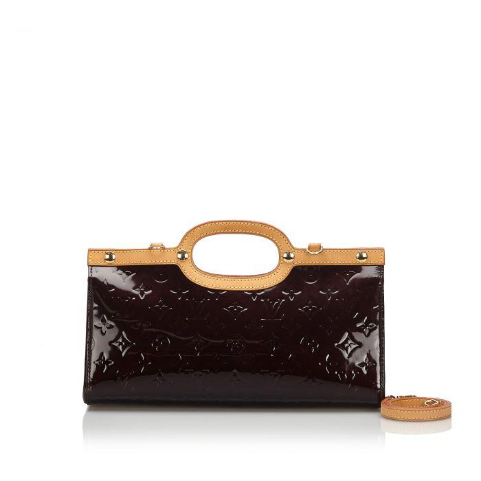 Image for Vintage Louis Vuitton Vernis Roxbury Drive Purple