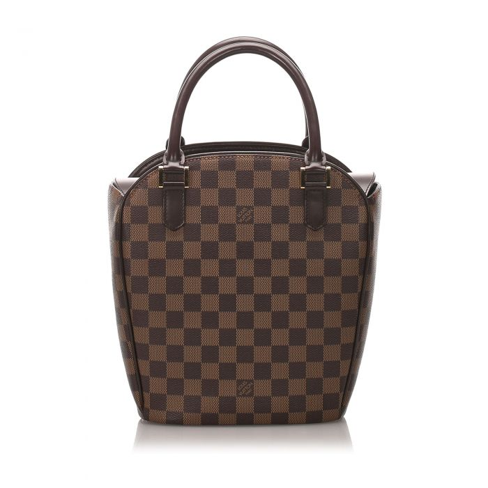 Image for Vintage Louis Vuitton Damier Ebene Sarria Seau Brown