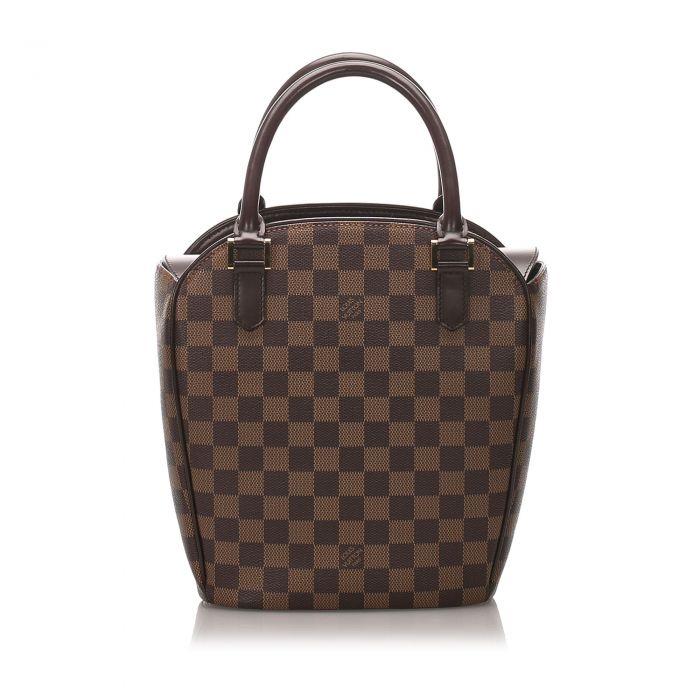 Image for Vintage Louis Vuitton Damier Ebene Sarria Seau Brown