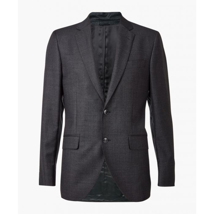 Image for Slate grey wool single breasted blazer