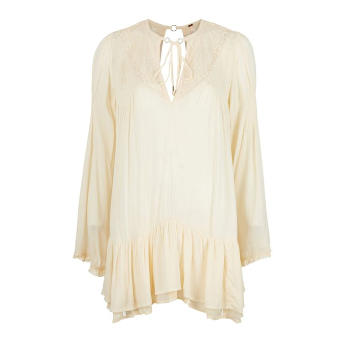Image for One Night white long sleeve top