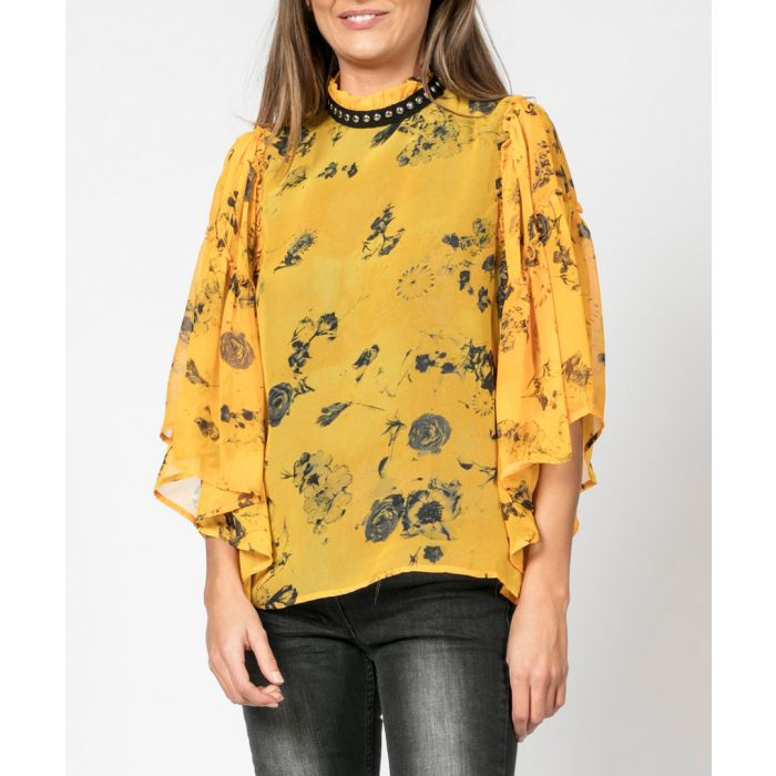 Image for Poise dawn print blouse