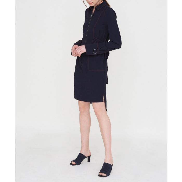 Image for The stockley navy dress