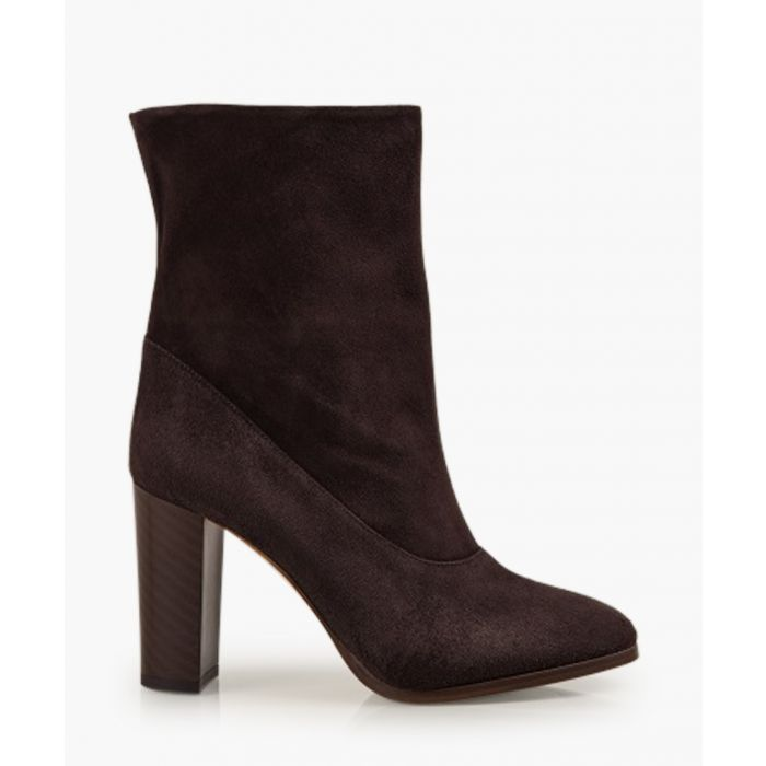 Image for Sappho Shore brown suede boots