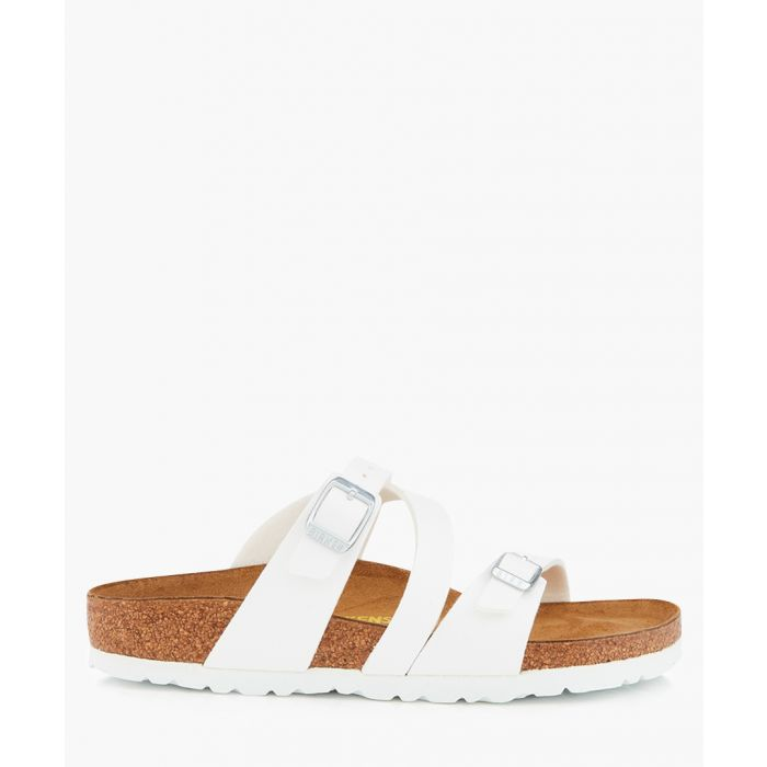 Image for Salina white narrow-fit sandals