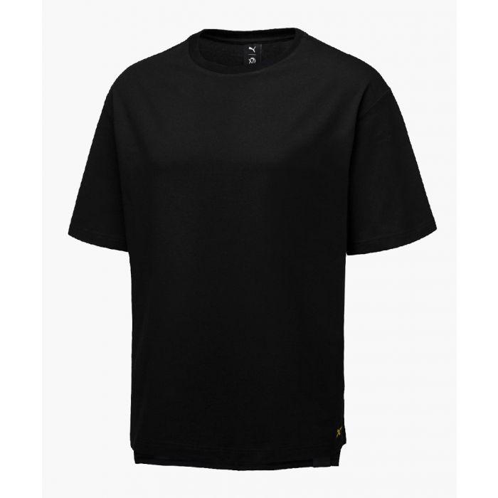 Image for Black pure cotton t-shirt