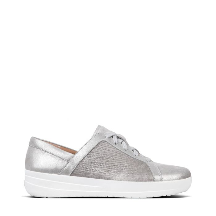 Image for F-Sporty metallic leather trainers