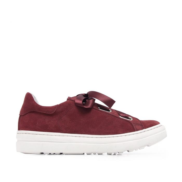 Image for Sneakers Woman Garnet Leather Maria Barcelo