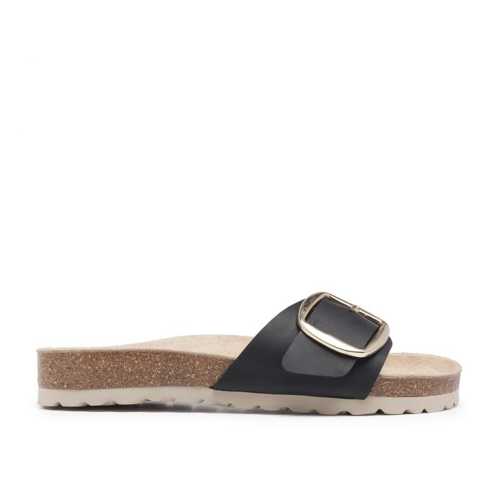 Image for Bio Sandals Woman Black Sandals Maria Barcelo