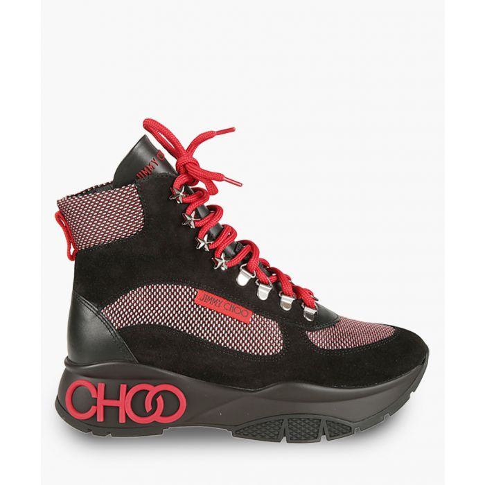 Image for Inca suede and mesh hiking boot