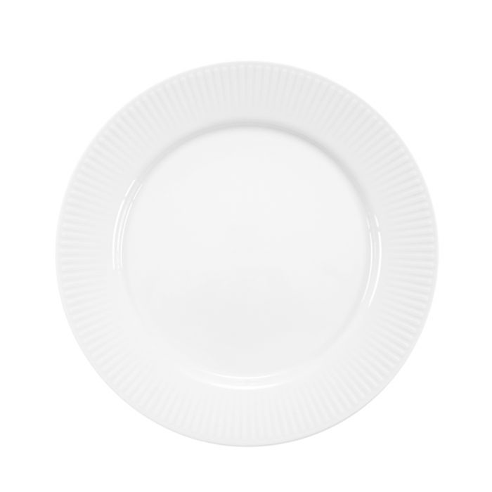 Image for 4pc white lunch plates 23cm