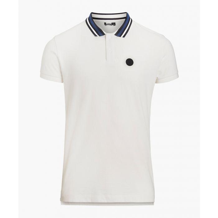 Image for Monochrome cotton polo top