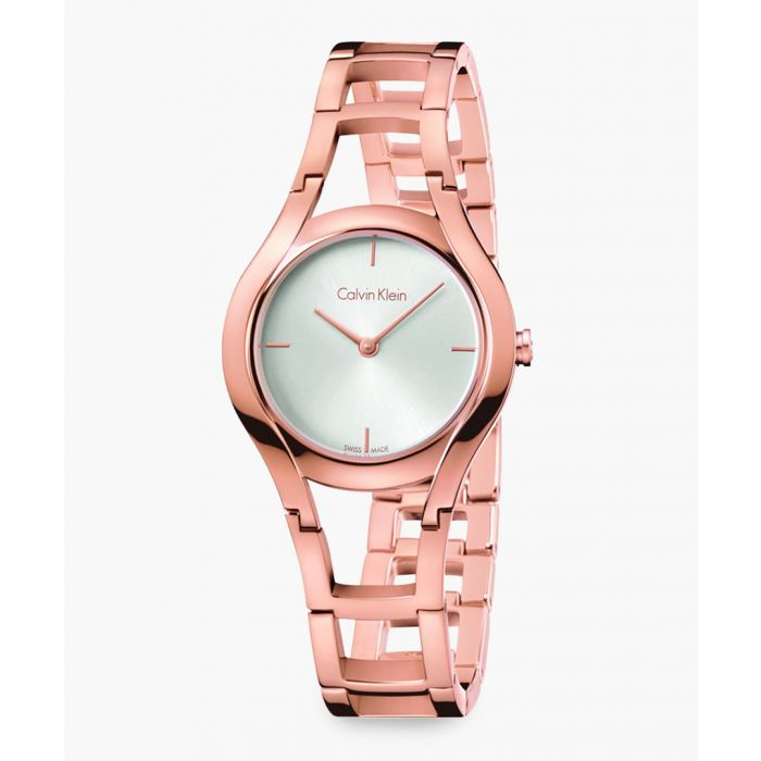 Image for Rose gold-plated watch