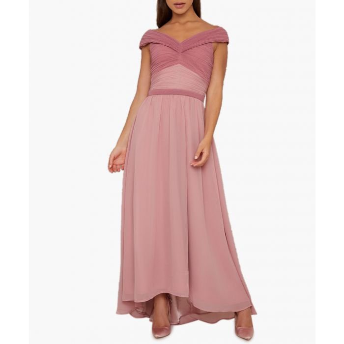 Image for Steffany mink maxi dress