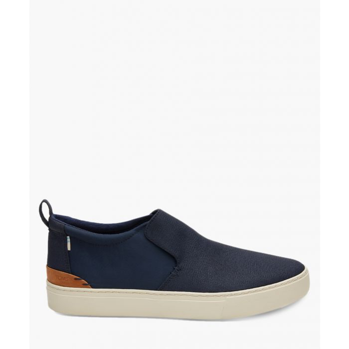 Image for Paxton navy canvas shoes