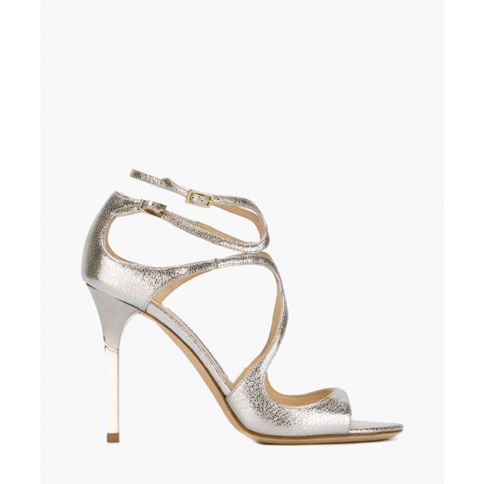 Image for Lang champagne patent leather heels