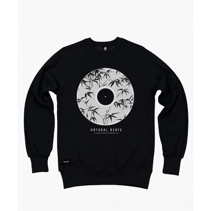 Image for Black crew neck sweater