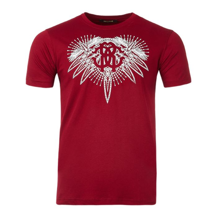 Image for Red printed T-shirt