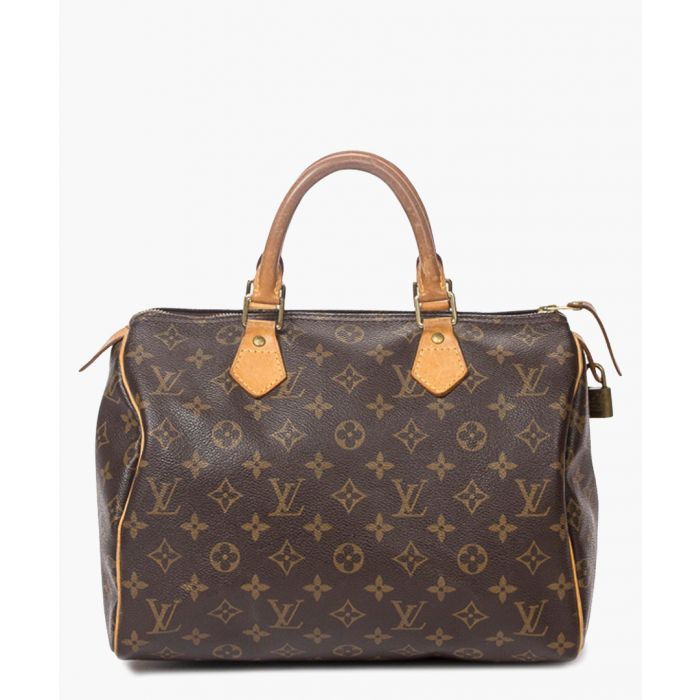 Image for Vintage Louis Vuitton Speedy 30 brown canvas monogram bag Grab Bag brown