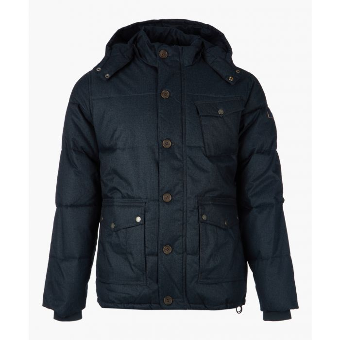Image for Navy button-up jacket