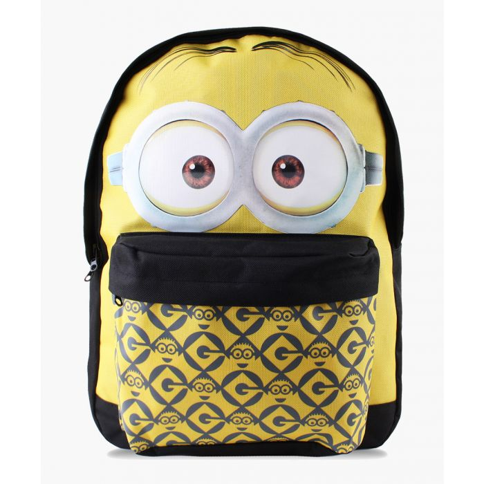 Image for Minions Dave yellow backpack
