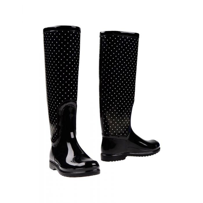 Image for Dolce & Gabbana Black Cotton Stivali