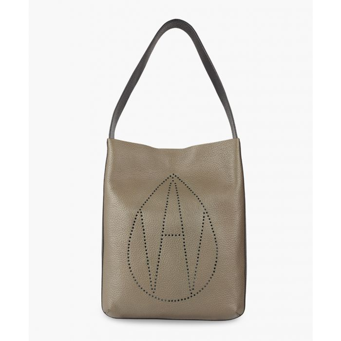 Image for Amanda Wakeley The Midi Jovi Bags Khaki