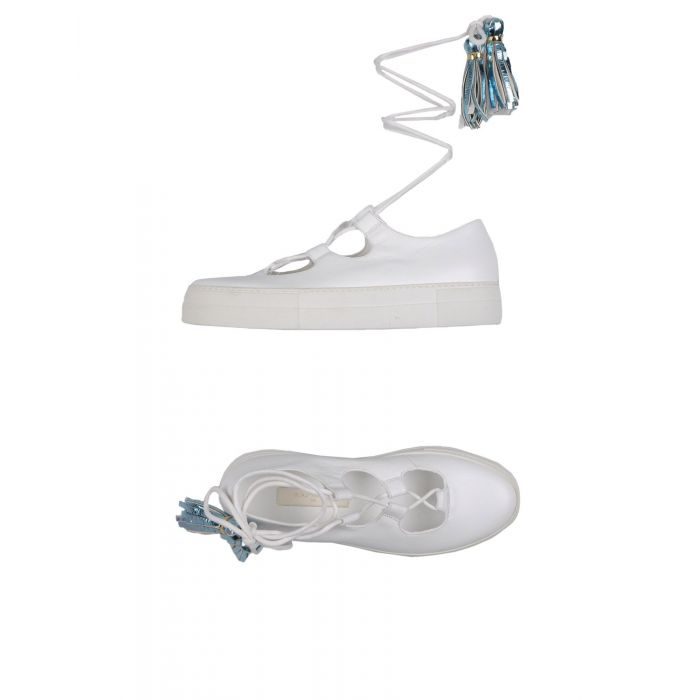 Image for White Leather Sneakers & Tennis shoes basse