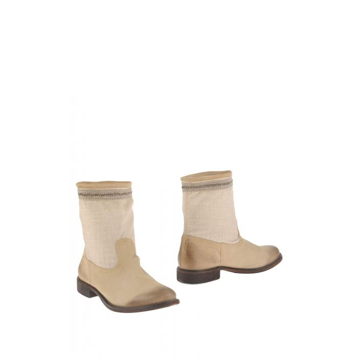 Image for Beige natural fibre ankle boots