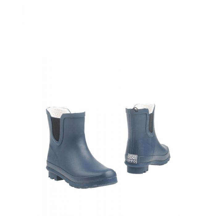Image for Dark blue rubber ankle boots