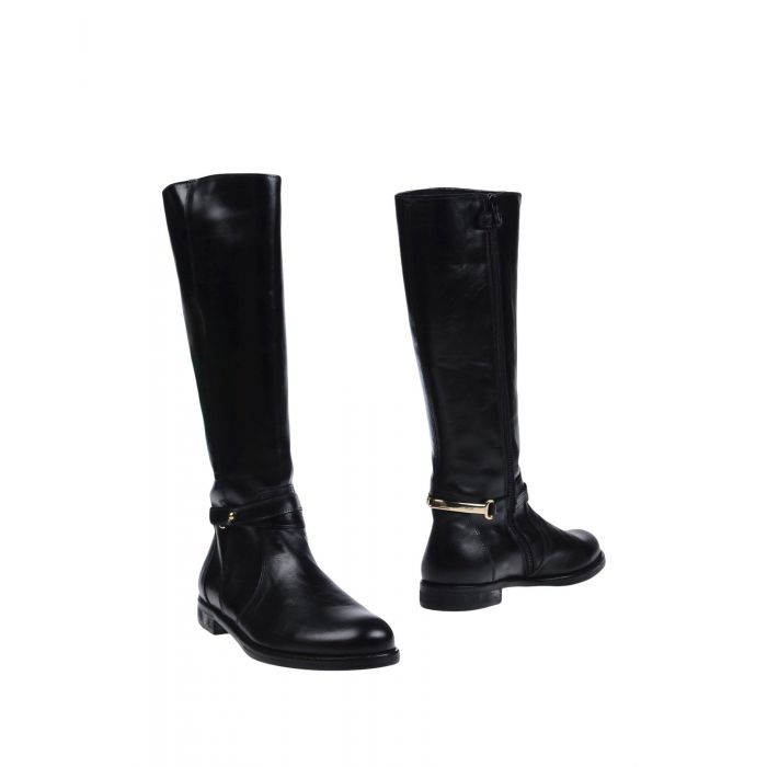 Image for Black leather boot