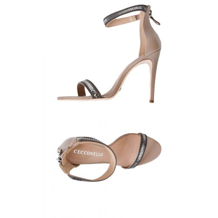 Image for Cecconello Dove grey Leather Sandali