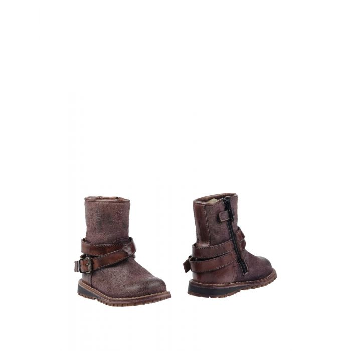 Image for Light brown leather ankle boots