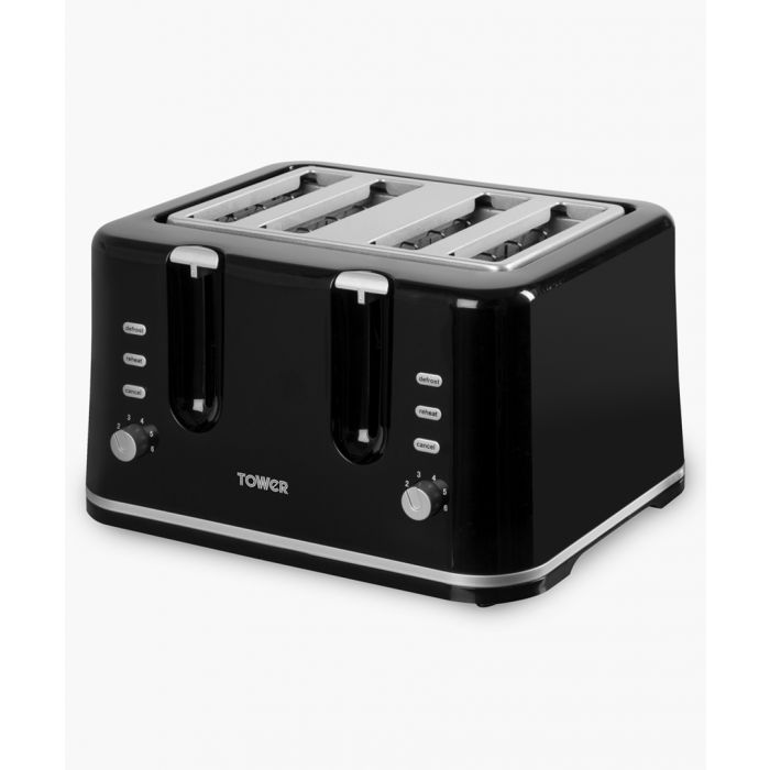 Image for Black 4-Slice toaster