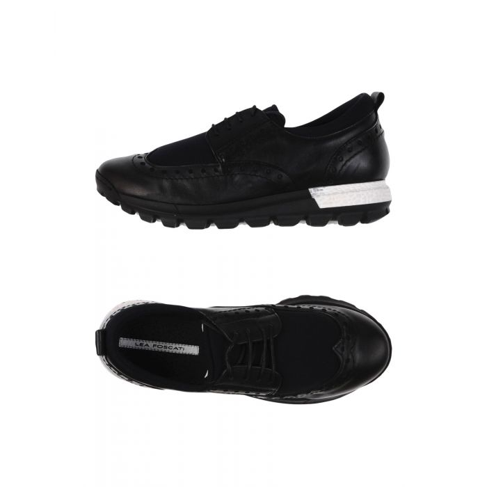Image for Black low-top trainers