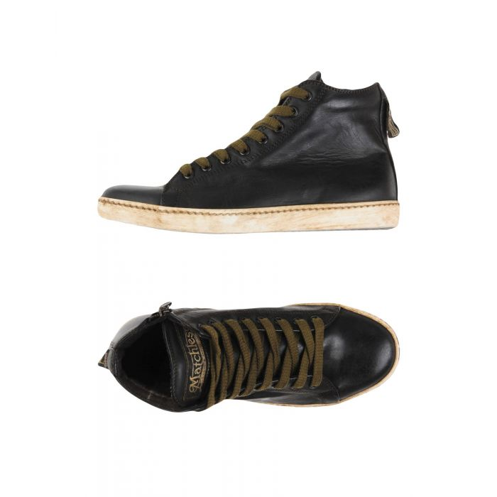 Image for Black high-top trainers